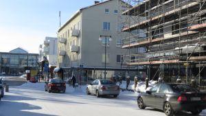 Kaupunkinäkymä Tornio, hallituskatu