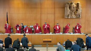 Saksan perustuslakituomioistuin.