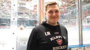 Kärppien nuorten SM-liigajoukkueen vastuuvalmentaja Lauri Mikkola