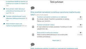 Screen shot -kuva otakantaa.fi-sivustolta