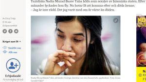 Svenska Dagbladet 7. maaliskuuta 2016.