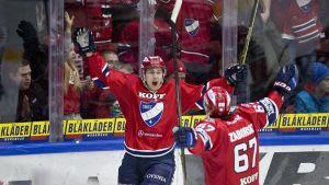 Robert Leino, HIFK #62 tekee 2-0