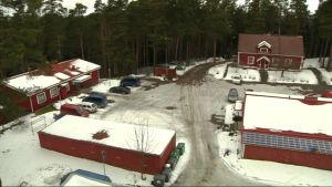 Poliisikoiralaitoksen alue Hämeenlinnassa