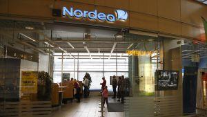 Nordea-pankin konttori.