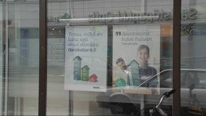 asuntolaina mainos pankki