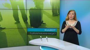 Ruutukaappaus Yle Uutiset Viikko viitottuna -lähetyksestä.