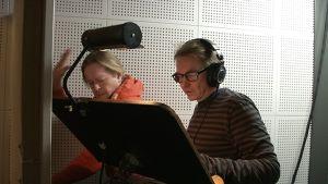 Juice-radiomusikaalin nauhoitukset Tampereen Mediapoliksessa