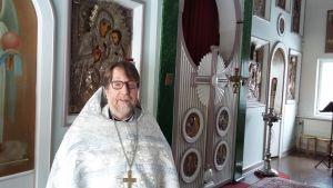 Jyväskylän ortodoksisen seurakunnan kirkkoherra isä Timo
