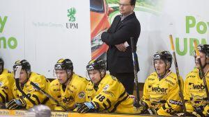 Pekka Tirkkonen ja SaiPa-aitio