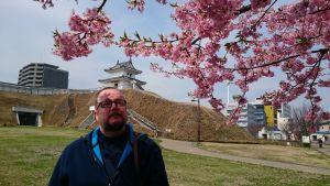 Juha Wirekoski on kiinnostunut japanilaisesta kulttuurista. Japanin Utsunomiyassa kirsikkapuut kukkivat tänä vuonna jo maaliskuussa.