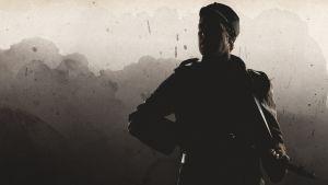 sotilas hämärässä
