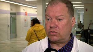 Lapin sairaanhoitopiirin infektiolääkäri Markku Broas