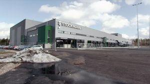 Stockmannin uusi jakelukeskus Tuusulassa.