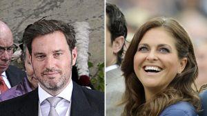 Chris O'Neill ja prinsessa Madeleine.