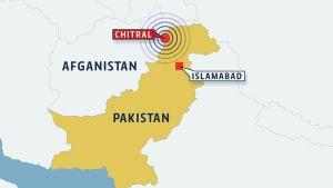 Pakistanin kartta.