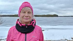 Kainuun Parkinson-yhdistyksen tiedottaja Mirjami Korhonen.