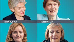 Pääsihteeriehdokkaat naiset