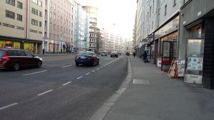 Hämeentie Kurvin kohdalla Helsingissä