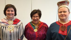 Aili Keskitalo, Ingrid Inga ja Tiina Sanila-Aikio