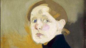 Helene Schjerfbeckin omakuva vuodelta 1912.