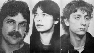 Ernst-Volker Staub, Daniela Klette ja Burkhard Garweg.