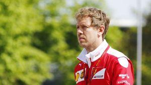 Ferrarin Sebastian Vettel