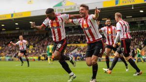 Sunderland juhlii maalia.