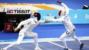Niko Vuorinen (vas.) Bakun Euroopan kisoissa