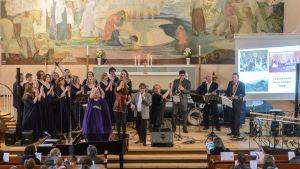 Vocaliisat, Pohkahara Boys, Anna Laakso, Pepe Petranen, Minna Siitonen Hyväntekeväisyyskonsertti Rovaniemen kirkko 16.4.2016