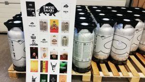 Oululaisen Sonnisaaren pienpanimon valikoimasta löytyy jo ensimmäsien toimintavuoden jälkeen liki 30 erilaista olutlaatua.
