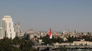 Näkymä Damaskokseen.