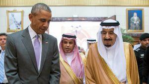 Barack Obama ja Salman bin Abdul-Aziz Al Saud