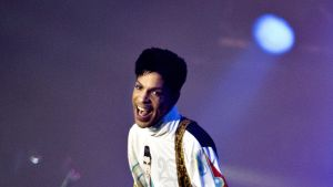 Prince esiintyi Roskilden festivaalilla Tanskassa 4. heinäkuuta 2010.