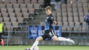 Ari Nyman, Inter