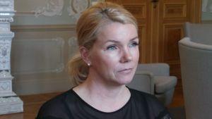 Porin kokoomuksen valtuustoryhmän puheenjohtaja Bia Kaski.
