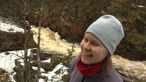Susanna Kolehmainen Oulangan luontokeskus, Kiutakönkäällä