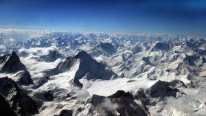 Himalajan vuoristoa.