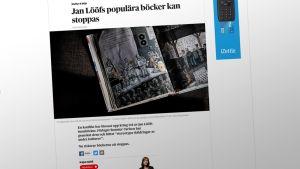 Kuvakaappaus DN:n nettisivusta.