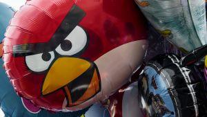 Angry Birds -ilmapalloja.
