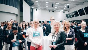 Talent Hunt -rekrytointitapahtuma järjestettiiin Finlandia-talossa 9.5.2016.