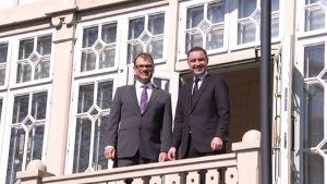 Pääministeri Juha Sipilä ja Viron pääministeri Taavi Rõivas.