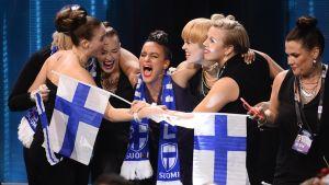 Suomen tiimi.