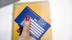 Eurooppalainen sairaanhoitokortti.