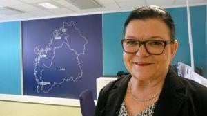 Kansanedustaja Maria Tolppanen (ps.)