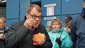 Pääministeri Juha Sipilällekin maistui vimpeliläinen keitos