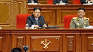 Puoluekokouksen aikana maan johtajan Kim Jong Unin vieressä istui Hwang Pyong Son, virallisen valtahierarkian nelonen.