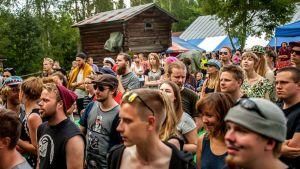 Heinäkuussa 2015 Naamoilla juhli 1000 vierasta.