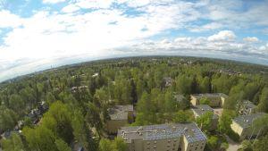 aurinkopaneeli Oulunkylässä