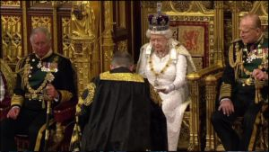 Kuningatar Elisabet II.n vuotuinen puhe parlamentissa