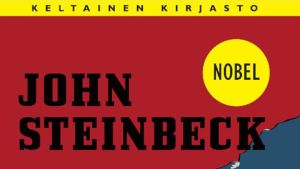 John Steinbeck: Routakuun aika -kirjan kansi
